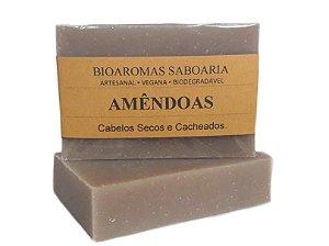 Shampoo Sólido Amêndoas 80g - BioAromas
