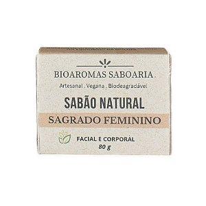 Sabão de Banho Sagrado Feminino 80g - BioAromas