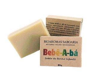 Sabão de Banho Infantil Bebê-A-Bá 80g - BioAromas