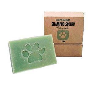 Shampoo Sólido Linha Pet Citronela 120g - BioAromas