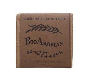 Sabão Natural de Coco 200g - BioAromas