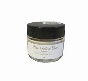 Desodorante Natural em Creme Coco 30g - BioAromas