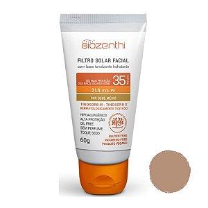 Filtro Solar Facial FPS 35 Bege Médio 60g - Biozenthi