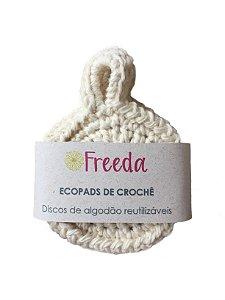 Ecopad de Crochê 3 unidades - Freeda