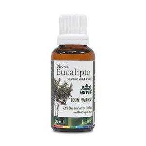 Óleo de Eucalipto Pronto Para a Pele 30ml - WNF
