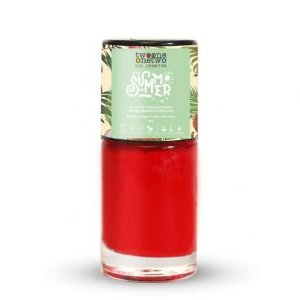 Esmalte Hipoalergênico It´s Summer Time Flame Scarlet (631) 10ml - Twoone Onetwo