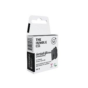 Fio Dental Charcoal 50m - The Humble