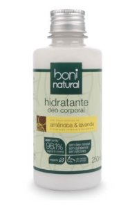 Hidratante Corporal Amêndoa e Lavanda 250ml - Boni Natural