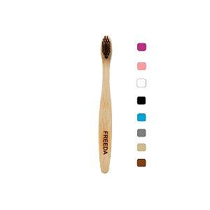Escova Dental de Bambu Infantil 1 unidade - Freeda