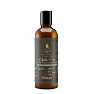 Shampoo 2x1 Equilíbrio 270ml - Ahoaloe