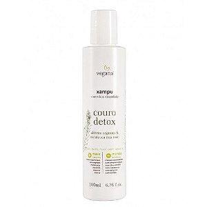 Shampoo Couro Detox 200ml - Vegana WNF