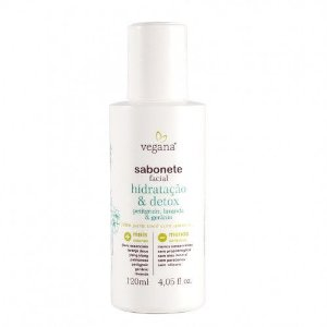 Sabonete Facial Hidratação & Detox 120ml - Vegana WNF