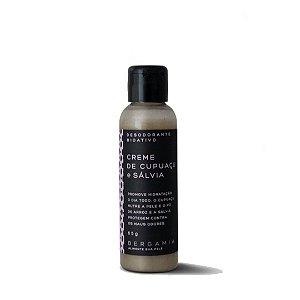 Desodorante Bioativo em Creme de Cupuaçu e Sálvia 65g - Bergamia