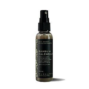 Bio-Spray Desodorante de Bambu e Calêndula 60ml - Bergamia