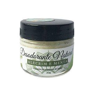 Desodorante Natural Alecrim e Menta 30g - Bioaromas