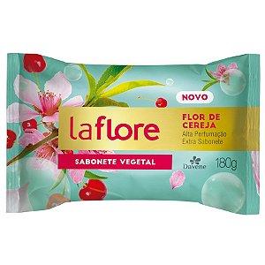 Sabonete Vegetal La Flore Flor de Cereja 180g - Davene