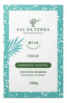 Sabonete Vegetal Coco 100g - Sal da Terra
