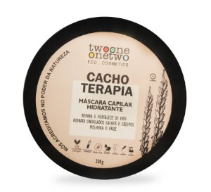 Máscara Capilar Hidratante Cacho Terapia 200g - Twoone Onetwo