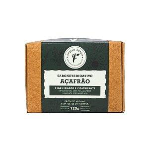 Sabonete Bioativo Açafrão 120g - Cheiro Brasil