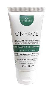 Hidratante Nutritivo Facial Onface 60ml - Biozenthi