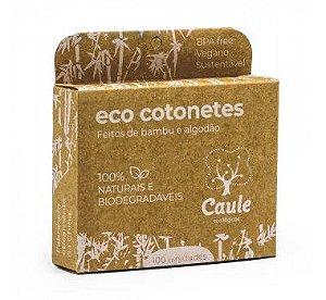 Eco Cotonetes de Bambu 100 unidades - Caule