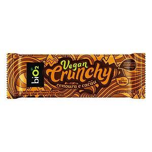 Vegan Crunchy Bar Cenoura e Cacau 28g - biO2