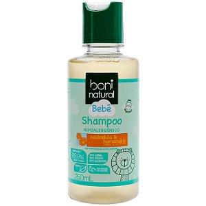 Shampoo Natural Boni Bebê Calêndula e Hamamélis 250ml - Boni Natural