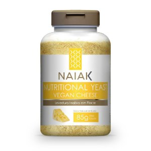 Nutritional Yeast Vegan Cheese 85g - Naiak
