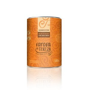 Farofa Churrasquinha - Ervas, Milho e Panceta - Lata 500g