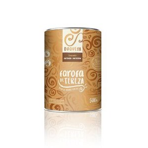 Farofa Duquesa - Castanha e Amendoim - Lata 500g