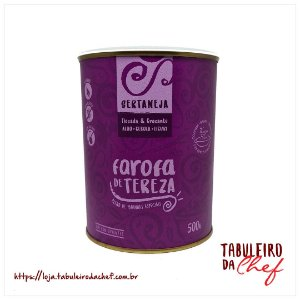 [2]  Farofa Sertaneja - Alho, Cebola e Licuri - Lata 500g