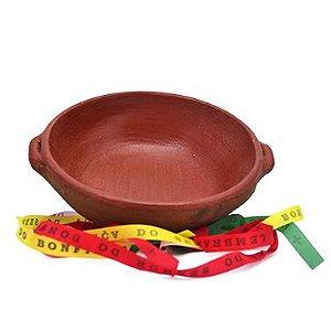 Panela de Barro artesanal de Coqueiros, Ceramista Dona Cadu