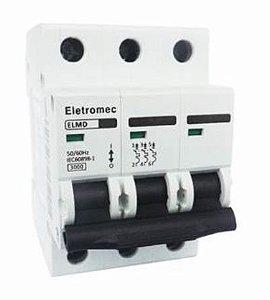 DISJUNTOR CURVA C 3X63A 3KA | ELETROMEC