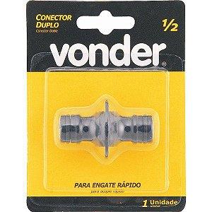 Conector Duplo P/Engate Rapido 1/2'' Vonder