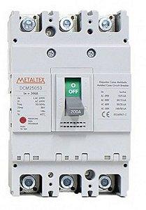 Disjuntor Caixa Moldada 3X250A 100Ka | Metaltex