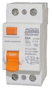 DISJUNTOR IDR-30 MA 2X40A | METALTEX