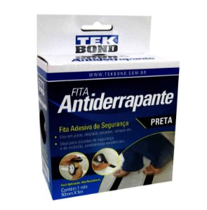 FITA ANTIDERRAPANTE PRETA 50MMX5M TEKBOND