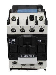 CONTATOR 18A 220V 1NA | ELETROMEC
