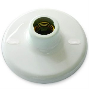 PLAFON BRANCO PVC 100W 250V | GERMER