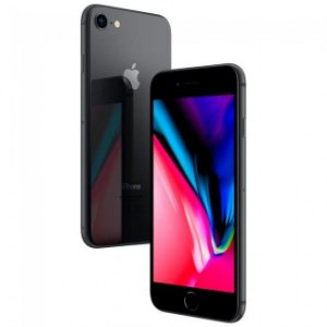 iPhone 8 64GB 4G iOS 11 Tela 4.7 3D Touch - Câm. 12MP - APPLE