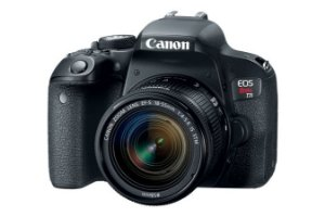 Câmera Fotográfica Rebel EOS T7i - CANON