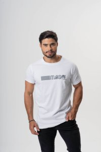 Camiseta Branca Maori Barras