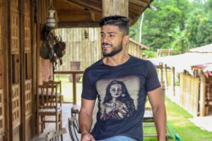 Camiseta Long Índia Maori