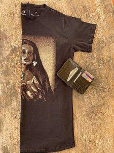 Kit Maori Pounamu - Camiseta + Carteira Flip