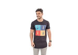Camiseta Slim Masculina Beer Maori Preta