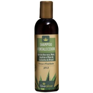 Shampoo Fortalecedor Livealoe - 240ml
