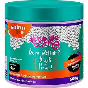#To de Cacho - Bora Definir? Black é Power! - Definidor de Cachos - 500g