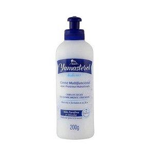 Yamasterol - Creme Multifuncional Com Proteína Hidrolisada 200g - Yamá