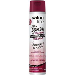 Salon Line - S.O.S. Bomba de Vitaminas - Condicionador Liberado! - 300ml