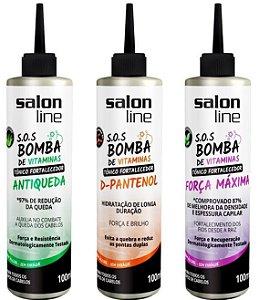 #To de Cacho COMBO S.O.S Bomba de Vitaminas - Blend 3 Tônicos -  Salon Line